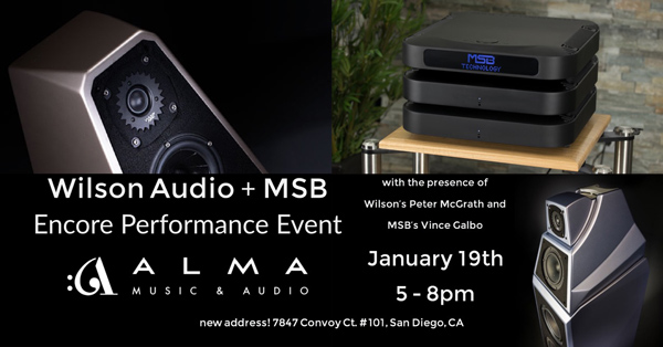 Wilson & MSB Event in San Diego Friday
