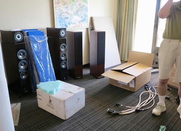 Preparing for the Florida Audio Show