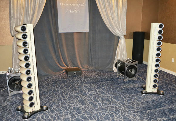 Scaena Model 3 Speakers, High Fidelity Cables MA-1 Amplifier, dCS Vivaldi Front End