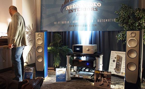 Paradigm Persona 3F loudspeakers, Anthem STR integrated amplifier