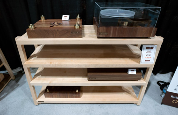 Butcher Block Acoustics RigidRack Audio Furniture
