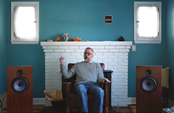 Art Dudley's New Listening Room: a Binaural Video