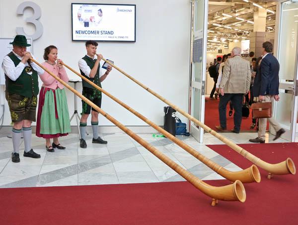 Horns for All at Munich High End