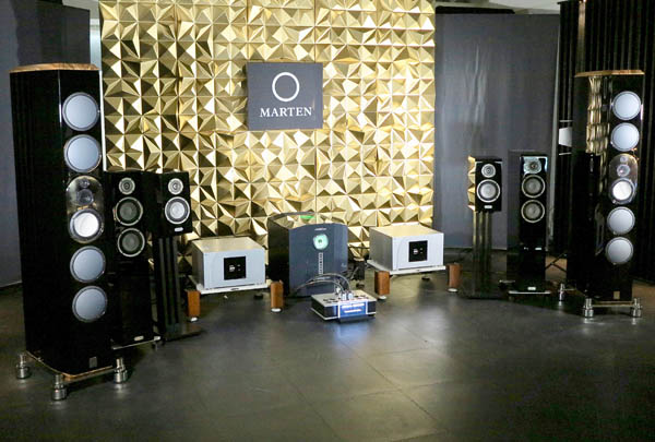 Marten Mingus Orchestra Speakers, Stromtank 2500 Power Conditioner, CH Precision Electronics, Jorma Cabling