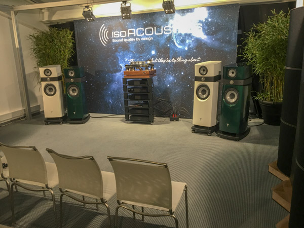 Focal, Naim, isoAcoustics, and the Damnedest Audio Demo I've Ever Experienced