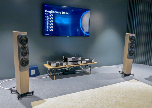 Dynaudio Confidence 30 Loudspeakers and Simaudio Moon Electronics