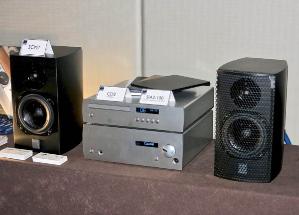 ATC CD2 CD player and SIA2-100 integrated amp/DAC