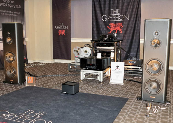 Gryphon Pandora Preamplifier, Magico S5 MkII Speakers, Sonorus Reel-to-Reel Deck, Acoustic Signature Storm Turntable, Synergistic Research cables, Artesiana Racks