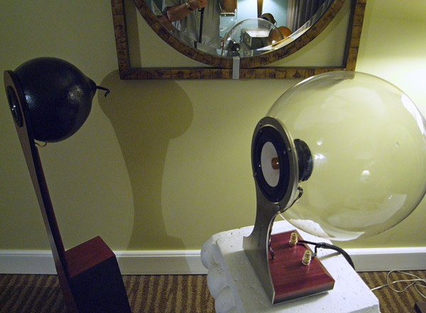 Spherical Speaker Enclosure Capital Audiofest—Day Two Late Afternoon  Stereophile