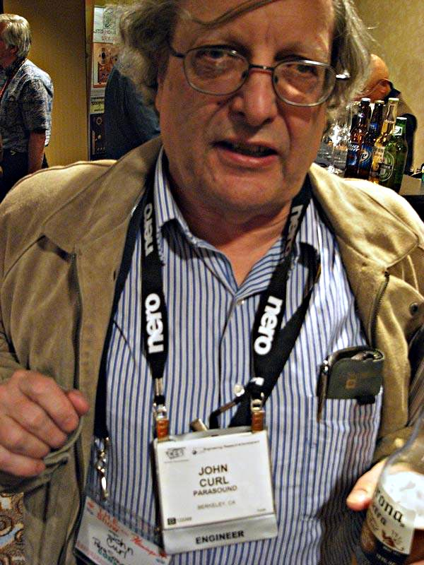 Meet Audio Legend John Curl in Colorado Saturday October 6