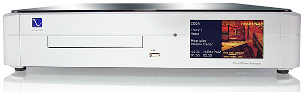 PS Audio DirectStream Memory Player universal transport