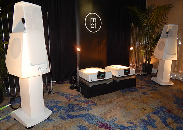 MBL DAC-CD Player, Integrated Amplifier, and Loudspeakers, Plus Wireworld Cables