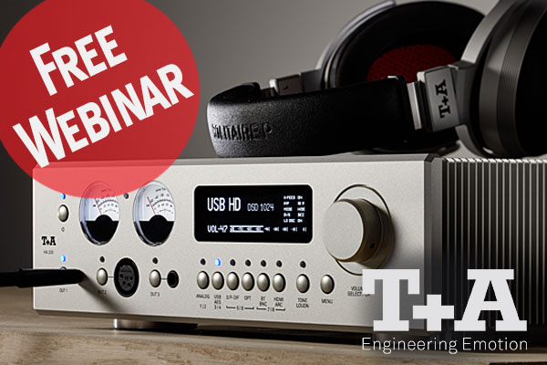 T+A Presents a Discussion of Their HA 200 Headphone Amp, HV Series Technology, and Solitaire P Headphones!