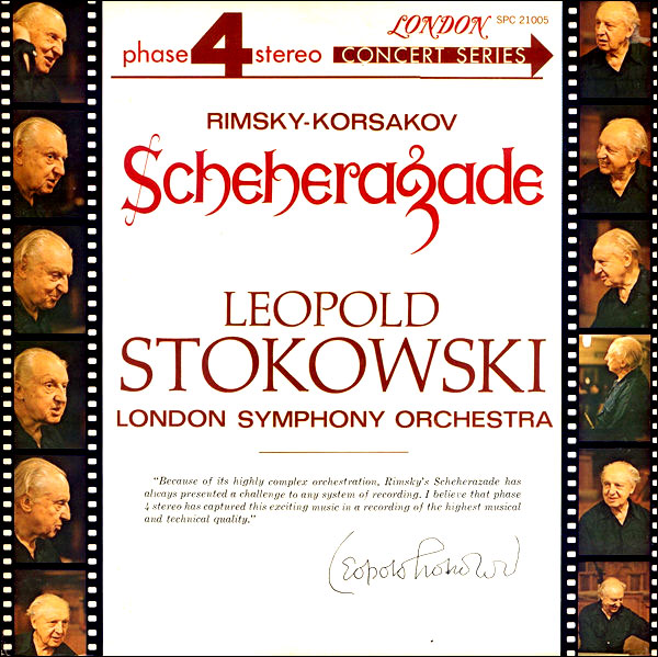 Recording of October 1965: Rimsky-Korsakov: Scheherazade