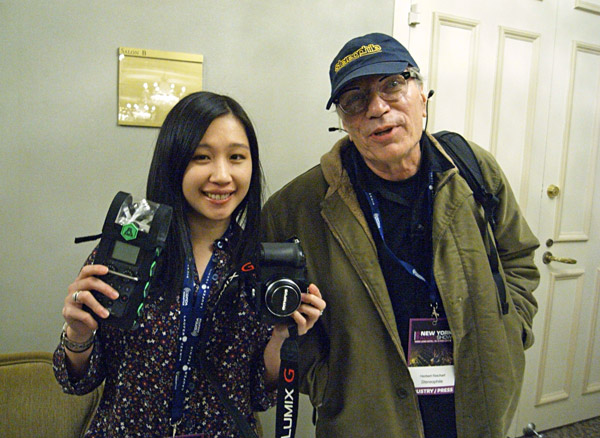Day 1 at the NYAS: a Binaural Video Report