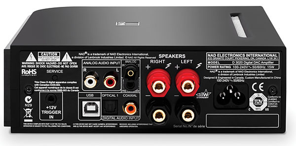 Youll Want To Know That Youre Getting Out Of The NAD D 3020 Exactly What Putting In
