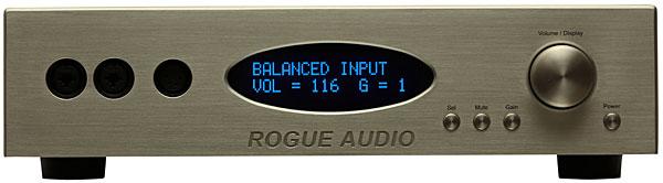Rogue Audio RH-5 preamplifier-headphone amplifier