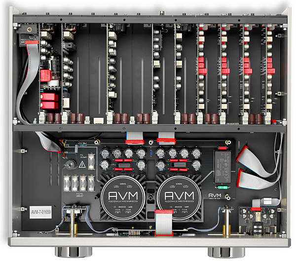 AVM Ovation PA 8 2 modular preamplifier | Stereophile com