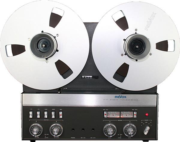Revox A-77 open-reel tape recorder