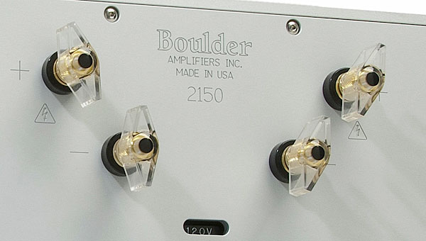 Boulder Amplifiers 2150 monoblock power amplifier