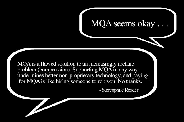 MQA: Some Claims Examined