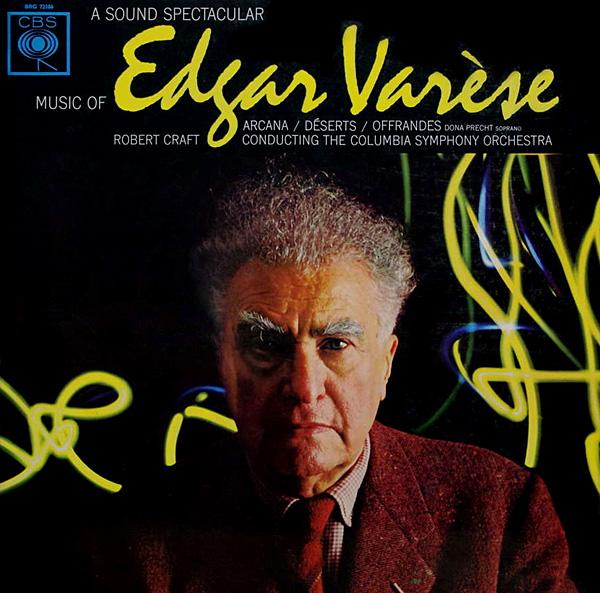 Recording of December 1963: <I>Music of Edgar Varèse, Vol.2</I>
