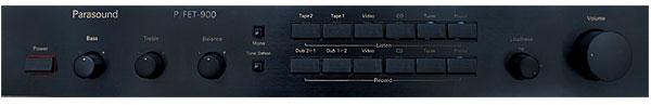 Parasound P/FET-900 preamplifier