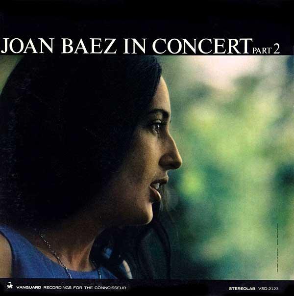 Recording of June 1964: Joan Baez In Concert, Part 2
