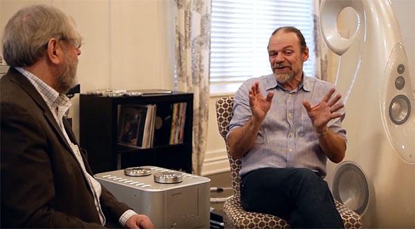 Vivid Video: JA Interviews Speaker Designer Laurence Dickie