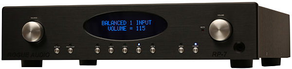 Rogue Audio RP-7 line preamplifier