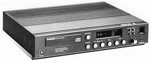 Tandberg 3015A CD player