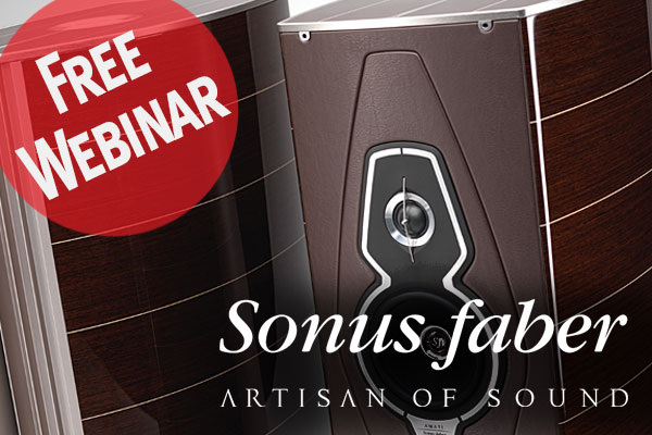 Sonus faber Presents a Discussion of Their Lumina Family of Passive Loudspeakers, Palladio Architectural Series, and Gravis Subwoofers!