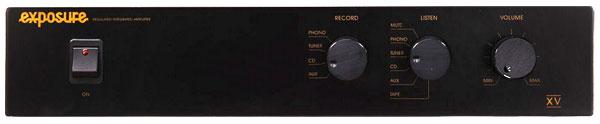 Exposure XV integrated amplifier