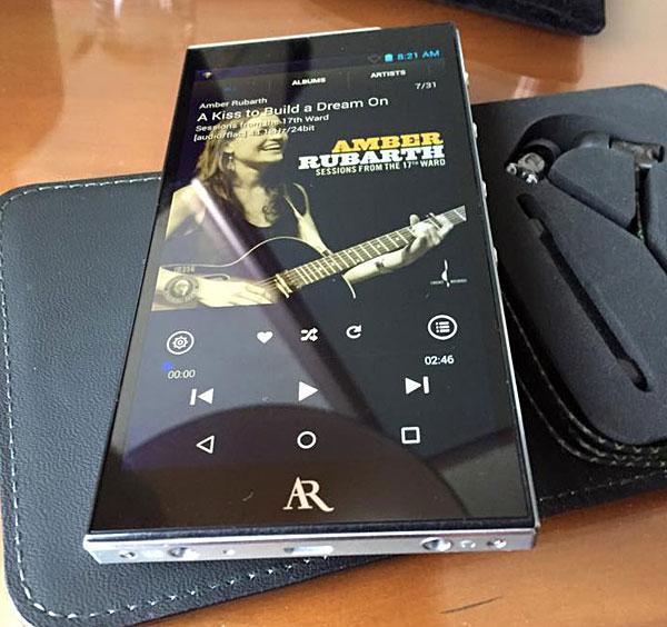 Acoustic Research AR-M2 hi-rez portable player | Stereophile com