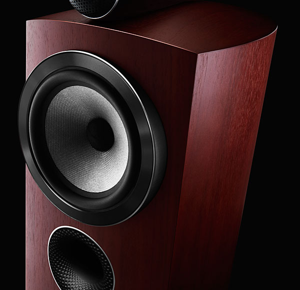 Kal Rubinson Discussed The Technology Introduced With Diamond Series Briefly Whereas Midrange Drive Units Of BWs Speakers Since DM 6 Had