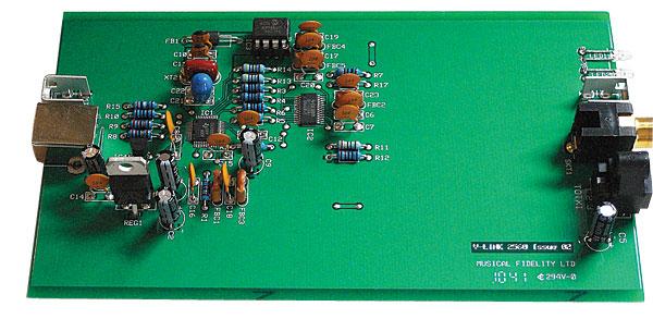 Musical Fidelity V-Link USB-S/PDIF converter Page 2 ...