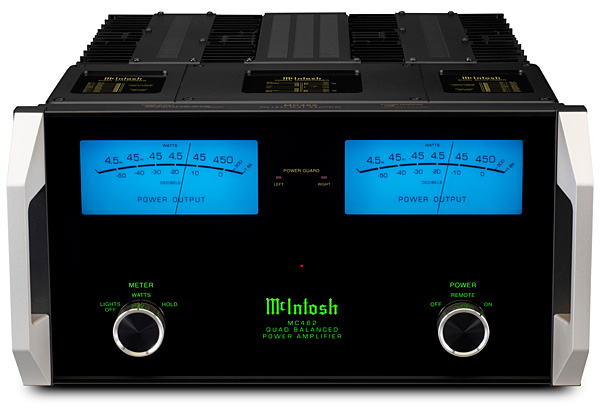 McIntosh Laboratory MC462 power amplifier