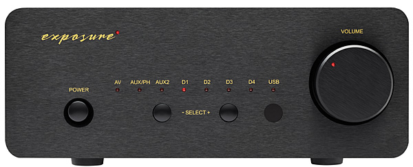 Exposure Electronics XM5 integrated amplifier