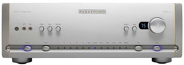 Parasound Halo Hint 6 integrated amplifier