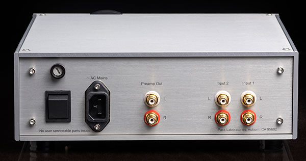 Pass Labs HPA-1 headphone amplifier | Stereophile com