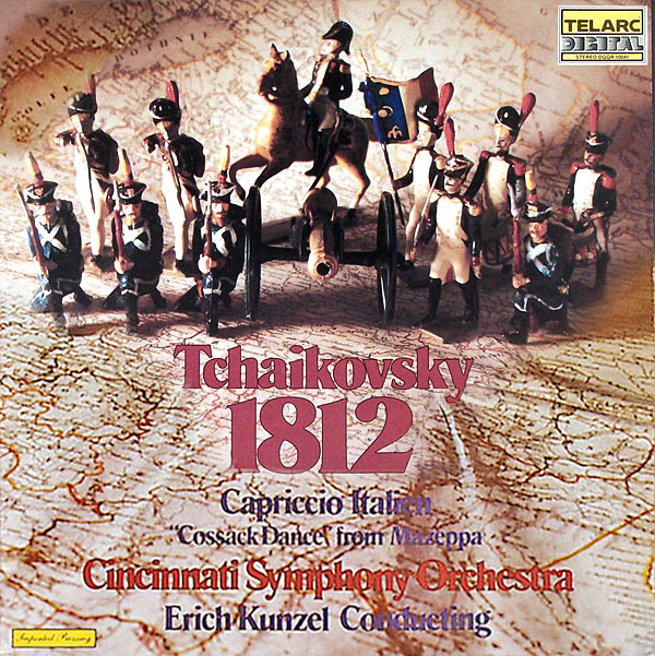 Recording of October 1979: The Telarc 1812 Overture