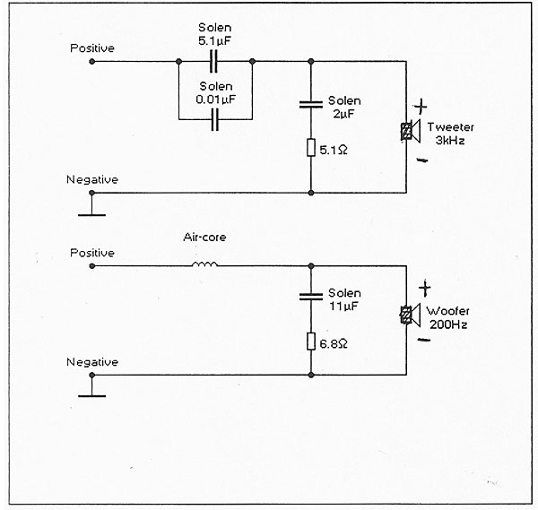 Speaker Network Circuit Diagram | Coincident Speaker Technology Troubador Loudspeaker Further Thoughts