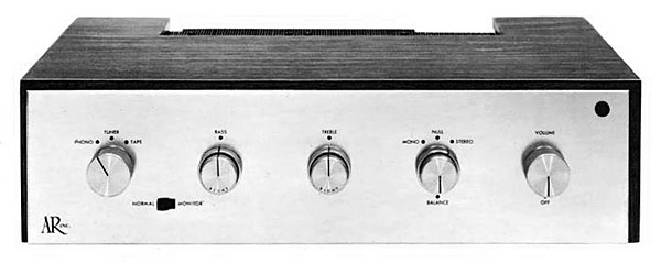 The Acoustic Research integrated amplifier