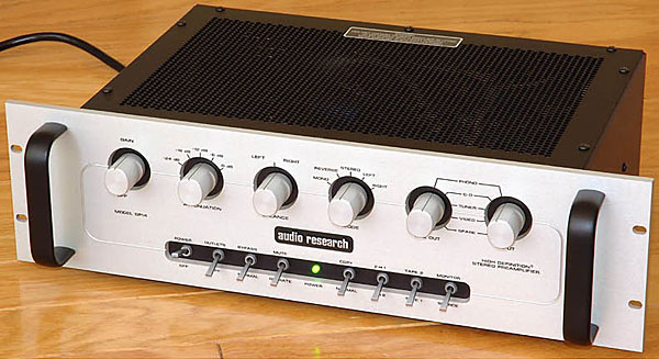 Audio Research Sp14 Preamplifier Stereophile Com