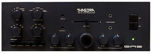 Great American Sound Thaedra preamplifier