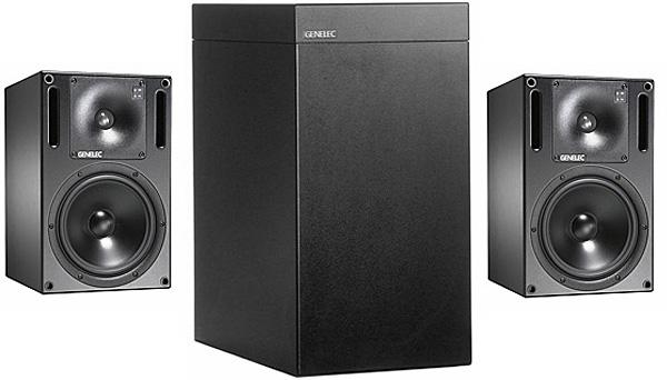 Genelec Studio Monitor 1031A loudspeaker & Studio Monitor 1092A powered subwoofer