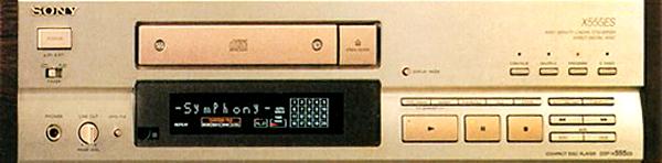 Sony CDP-X555ES CD player