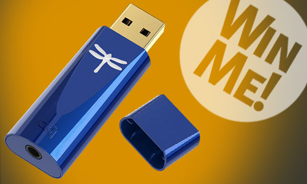 AudioQuest DragonFly Cobalt Portable USB DAC Sweepstakes