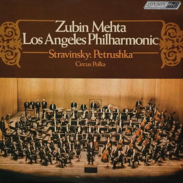 Recording of July 1968: Stravinsky: Petrouchka, Circus Polka