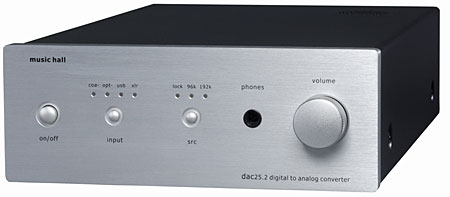 Music Hall dac25 2 D/A processor | Stereophile com
